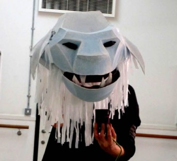 Abominable Cardboard Snowmen….